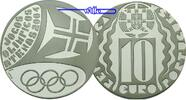 10 Euro 2004 Portugal Olympiade Athen stgl  19,80 EUR  +  7,00 EUR shipping