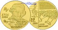 10 Euro, 7,78g fein22 mm Ø 2006 Frankreich Mozart (1756-2006)-1/4 oz, 9... 498,00 EUR  +  17,00 EUR shipping