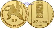20 Euro, 15,64g fein31 mm Ø 2007 Frankreich Rugby Weltmeisterschaft 200... 850,00 EUR  + 23,00 EUR frais d'envoi