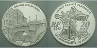 20 Euro 2007 Frankreich 400 Jahre Pont Neuf / 5 oz. Silber inkl. Etui &... 325,00 EUR