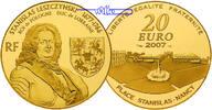 Frankreich 20 Euro,  15,64g fein  31 mm Ø Stanislas Leszczynski - 1677-1766 - Herzog von Lothringen und König von Polen