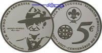 5 Euro 2007 Portugal 100 Jahre Pfadfinder 2007, inkl. Etui & Zertifikat... 56,50 EUR