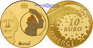 10 Euro, 7,78g fein22 mm Ø 2007 Frankreich Tim und Struppi  1/4 Unze Go... 721.79 US$ 650,00 EUR