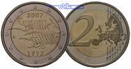 2 Euro 2007 Finnland 90 Jahre Unabhängigkeit im Etui PP  14,95 EUR  +  7,00 EUR shipping