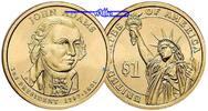 1 $ 2007 D USA John Adams 2007 Denver / Kupfer-Nickel / Neue Serie vz  259 руб 3,50 EUR  +  814 руб shipping