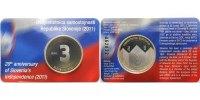 3 Euro 2011 Slowenien Unabhängigkeit Slowenien 1991-2011 - vierte Euro ... 19.43 US$ 17,50 EUR  +  12.21 US$ shipping