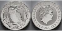 10 $,10 oz. 2012 Australien Kookaburra stgl  495,00 EUR  +  17,00 EUR shipping