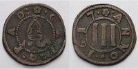 3 Pfennig 1617 Paderborn Domkapitel Drei Pfennig - 1/4 Schilling sehr s... 115,00 EUR