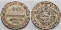 20 Kreuzer 1764 Paderborn, Bistum Wilhelm Anton von der Asseburg 1763-1... 185,00 EUR  +  17,00 EUR shipping