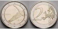 2 Euro 2011 Finnland 200 Jahre finnische Nationalbank stgl  5.07 US$ 4,50 EUR  +  12.39 US$ shipping