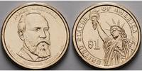 USA 1 $ 2011 D vz James Garfield / Kupfer-Nickel, Denver 3,50 EUR