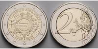 2 Euro 2012 Griechenland 10 Jahre Euro Bargeld stgl  4,90 EUR  + 7,00 EUR frais d'envoi