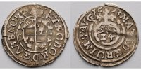 1/24 Taler  1613 Corvey, Abtei Theodor von Beringhausen 1585-1616, Höxt... 195,00 EUR  +  17,00 EUR shipping