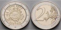 2 Euro 2012 Zypern 10 Jahre Euro Bargeld stgl  5.22 US$ 4,70 EUR