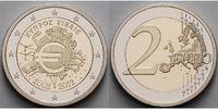 2 Euro 2012 Zypern 10 Jahre Euro Bargeld PPim Etui  18,00 EUR  +  7,00 EUR shipping