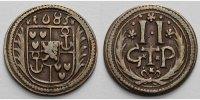 2 Pfennig 1685 Bentheim-Tecklenburg-Rheda Johann Adolph 1674-1704 Schön... 95,00 EUR  +  17,00 EUR shipping