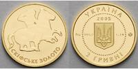 Ukraine 2 Hryvni1,24g fein14 mm  Gold der Skythen - Reiter aus skythischen Grabfund (1830)v. Kyl\'Oba - 1. Ausgab