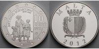 10 Euro 2012 Malta Sciortino - Europaprogramm inkl. Kapsel, Zertifikat ... 71.96 US$ 64,80 EUR