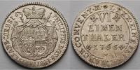 1/6 Taler  1765 Corvey, Abtei Philipp Spiegel zum Desenberg 1758-1776,s... 650,00 EUR  +  23,00 EUR shipping