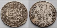 1/6 Reichstaler 1772 Paderborn, Bistum Wilhelm Anton von Asseburg, 1763... 125,00 EUR  +  17,00 EUR shipping