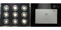 1/2 oz. x 9 2012 Großbritannien 25 Jahre Britannia Set mit 9 Münzen exk... 732.09 US$ 659,00 EUR  +  46.66 US$ shipping