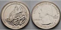 1/4 $ 2012 D USA Acadia /D - Kupfer-Nickel - vz  2.25 US$ 2,00 EUR  +  12.39 US$ shipping