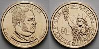 USA 1 $ 2012 D vz Chester A. Arthur / Kupfer-Nickel, Denver 3,50 EUR