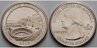 1/4 $ 2012 P USA Chaco Culture /P - Kupfer-Nickel - vz  2,00 EUR  excl. 7,00 EUR verzending