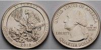 1/4 $ 2012 P USA El Yunque /P - Kupfer-Nickel - vz  2,00 EUR  + 7,00 EUR frais d'envoi