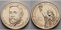 1 $ 2012 P USA Benjamin Harrison / Kupfer-Nickel, Philadelphia vz  3,50 EUR  +  7,00 EUR shipping