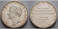 Taler Münzbesuchstaler 1855 Sachsen Johann 1854 - 1873 min. Kratzer vor... 235,00 EUR  + 17,00 EUR frais d'envoi