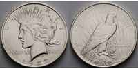 USA / United States 1 $ Peace Dollar 1921 - 1928, 1923 P (Philadelphia) <b>Archivbild</b>