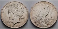 USA / United States 1 $ Peace Dollar 1921 - 1928, 1923 P (Philadelphia)