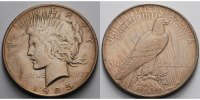 USA / United States 1 $ Peace Dollar 1921 - 1928, 1925 P (Philadelphia)