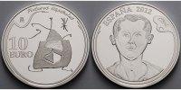 10 Euro 2012 Spanien Joan Miro - Frau,Vogel,Stern, inkl. Etui & Zertifi... 64,80 EUR  +  17,00 EUR shipping