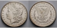 USA / United States 1 $ Morgan Dollar 1878 - 1921, 1896 P  (Philadelphia)