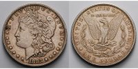 USA / United States 1 $ Morgan Dollar 1878 - 1921, 1885  (Philadelphia) 