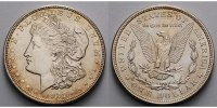 USA / United States 1 $ Morgan Dollar 1878 - 1921, 1921  (Philadelphia) 