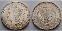 USA / United States 1 $ Morgan Dollar 1878 - 1921, 1888 O, (New Orleans)