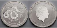 2 $,2 oz. 2013 Australien Jahr der Schlange /Chines. Tierkreiszeichen  ... 96,50 EUR  +  17,00 EUR shipping