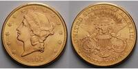 USA 20 $ 30,09gfein34 mm Liberty, San Francisco 1904 S Gold, (Coronet Head Double Eagle)