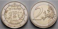 2 Euro 2013 Frankreich 50 Jahre Élysée Vertrag stgl  4,70 EUR  +  7,00 EUR shipping