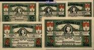 25,50 Pfg. 1,2,5 Mark  Driburg, Bad Spar und Darlehenskassen Verein,  I  888 руб 12,00 EUR  +  814 руб shipping