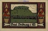 2 Mark  Driburg, Bad Spar und Darlehenskassen Verein,  I  4,00 EUR  + 7,00 EUR frais d'envoi