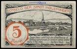 5 Mk  Holzminden Grabowski 625.1 I-  27.77 US$ 25,00 EUR  +  12.22 US$ shipping