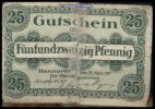 25 Pfg.  Hannover Grabowski H13.7b IV  2,00 EUR  + 7,00 EUR frais d'envoi