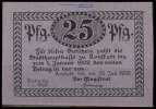 Konstadt 25 Pfg. Grabowski K43.7b