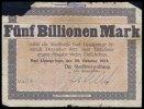 Fünf Billionen Mark 1923 Lippspringe, Bad, Westfalen  Topp 556.13, star... 10,00 EUR  +  7,00 EUR shipping