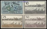 Lyck, Polen 5,10,25,50 Pfg., Grabowski 849.1