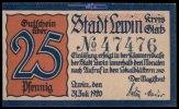 25 Pfg.,  Läwin, Polen Grabowski L35.7a I  1,35 EUR  excl. 7,00 EUR verzending